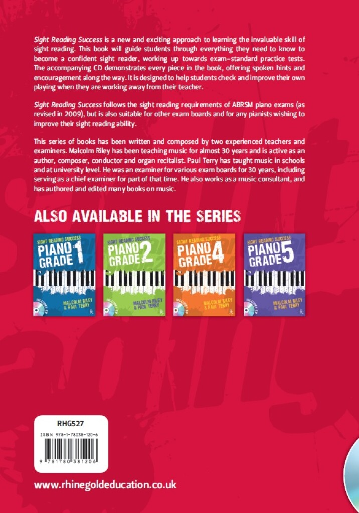 Sight Reading Success Piano Grade 3