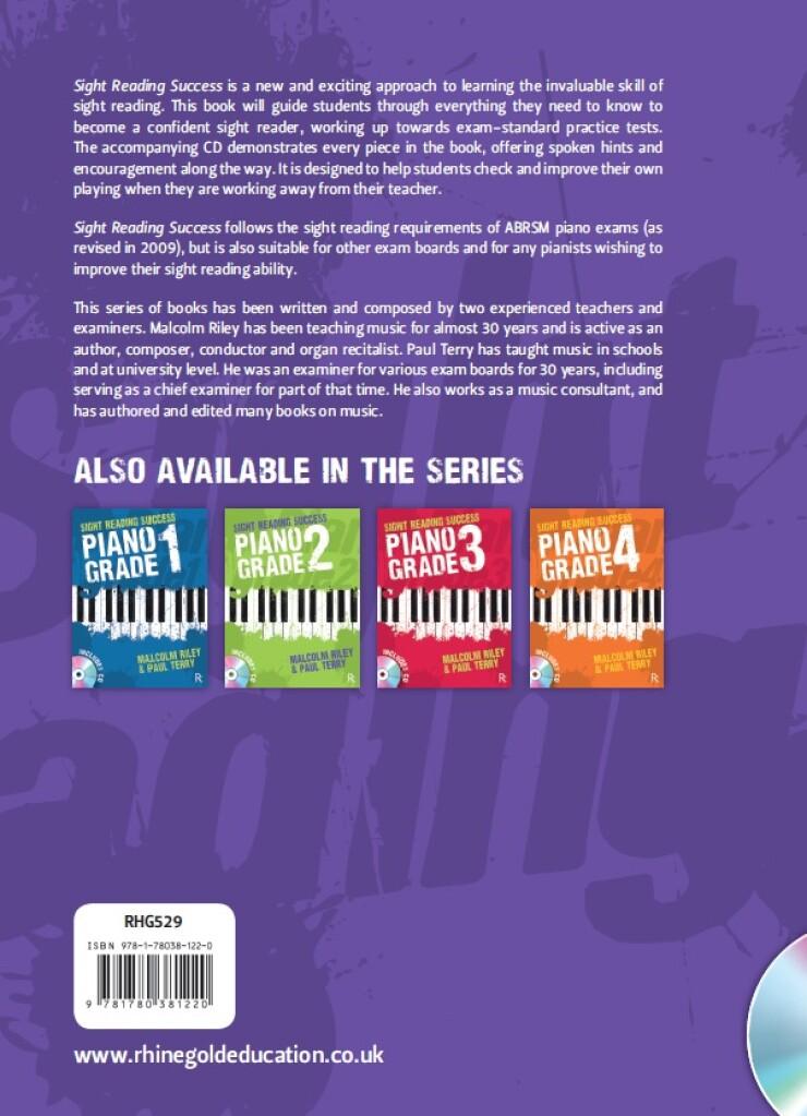 Sight Reading Success Piano Grade 5