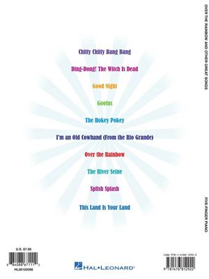 Five Finger Piano: Over The Rainbow And Other Great Songs