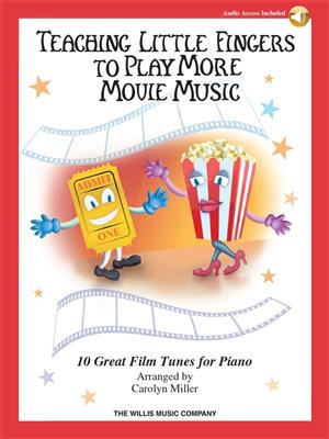 Teaching Little Fingers To Play More Movie Music (Book/Online Audio)