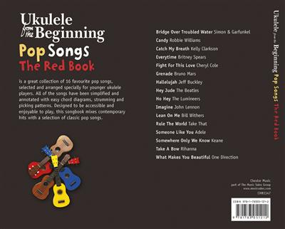 Ukulele From The Beginning – Pop Songs (Red Book)