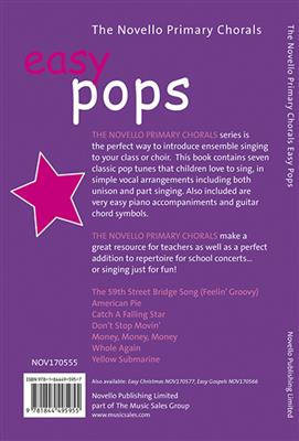 The Novello Primary Chorals: Easy Pops Cover