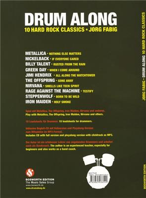 Drum Along - 10 Hard Rock Classic: Drums and Percussion
