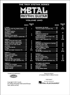 Metal Rhythm Guitar Vol. 1 ( Italian )