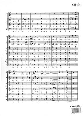 Louis Durey: Chanson Des Quatre Muletiers: Mixed Choir