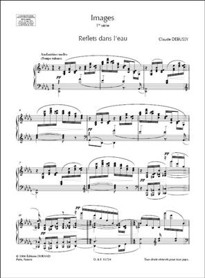Claude Debussy: Images: Piano or Keyboard