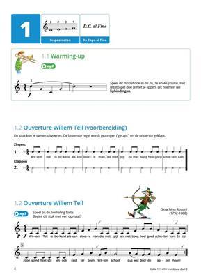Rubank Intermediate Method Learn Trombone Euphonium Easy Beginner MUSIC BOOK