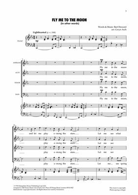 Fly me to the moon.: Arr. (Gwyn Arch): SATB