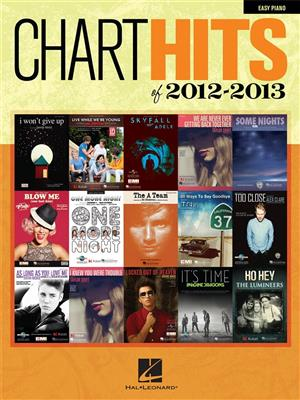 Chart Hits Of 2012-2013: Easy Piano