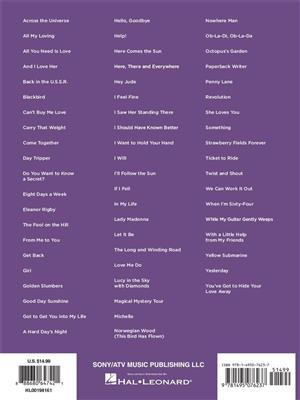 The Beatles – Super Easy Songbook: Piano | Musicroom com