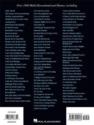 The Hymn Fake Book: Melody, Lyrics & Chords | Musicroom com