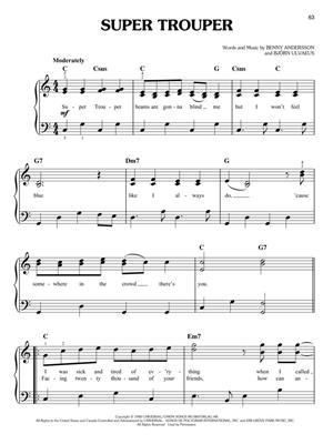 Abba Mamma Mia Here We Go Again Easy Piano Musicroomcom