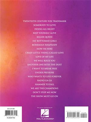 Queen: Bohemian Rhapsody E-Z Play Today: Piano or Keyboard