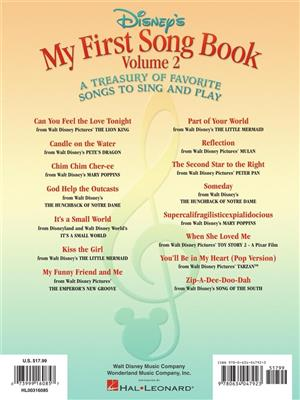 Disney's My First Songbook Vol. 2: Piano or Keyboard