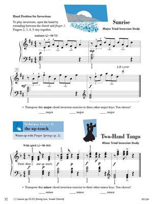 Level 3B Piano Adventures Technique /& Artistry Book