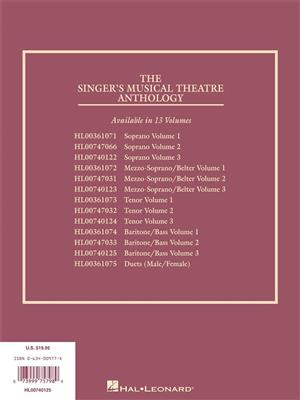 The Singer's Musical Theatre Anthology - Volume 3: Arr. (Richard Walters): Baritone or Bass
