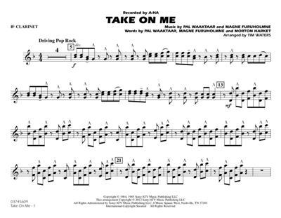 Magne Furuholmne: Take On Me: Arr  (Tim Waters): Marching