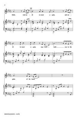 Philip W  J  Stopford: Irish Blessing: SATB | Musicroom com