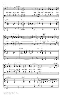 Christmas Lullaby.Jason Robert Brown Christmas Lullaby Arr Mac Huff Sab