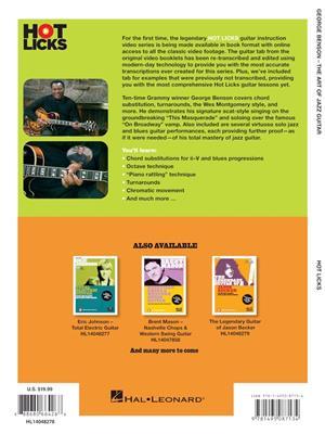 George Benson The Art Of Jazz Guitar Musicroom Com