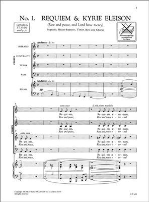175: Vocal score 86 // B Mass in D Op