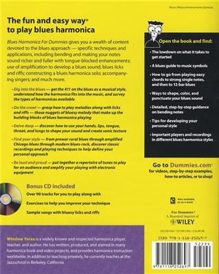 Blues Harmonica For Dummies: Harmonica