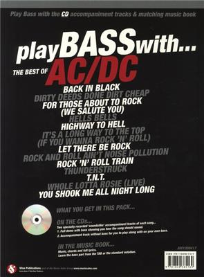 AC/DC: Play Bass With... The Best Of AC/DC: Arr. (Arthur Dick): Bass Guitar