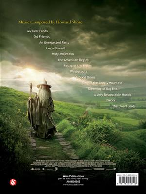 Howard Shore: The Hobbit: An Unexpected Journey: Piano, Vocal and Guitar (songbooks)