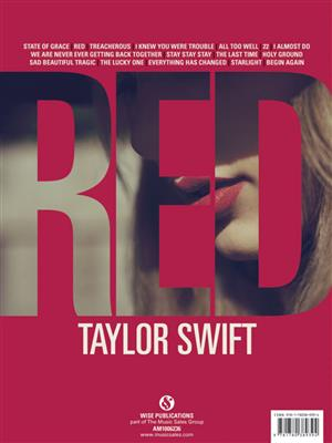 Taylor Swift: Red: Piano, Vocal and Guitar (songbooks)