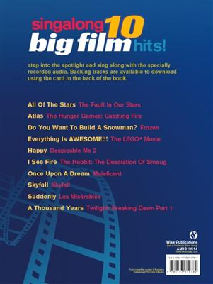 Singalong: 10 Big Film Hits!: Piano, Vocal and Guitar (songbooks)