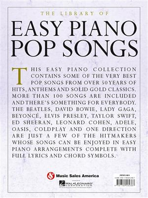 The Library Of Easy Piano Pop Songs: Piano or Keyboard