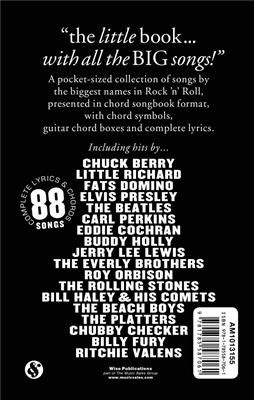 The Little Black Songbook: Rock 'n' Roll: Melodyline, Lyrics and Chords