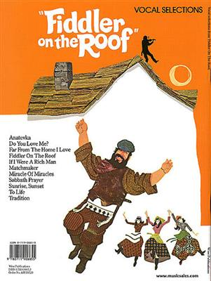Jerry Bock: Fiddler On The Roof Selectie: Piano, Vocal and Guitar (songbooks)