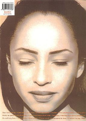 Sade: The Best Of Sade: Piano, Vocal and Guitar (songbooks)