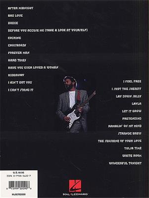 Eric Clapton: Eric Clapton's Best: Easy Guitar Notes And Tab: Guitar or Lute