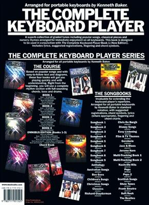 Kenneth Baker: Complete Keyboard Player 1 Supplement: Piano, Vocal and Guitar (songbooks)