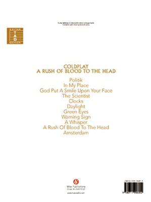 Coldplay: A Rush Of Blood To The Head: Guitar or Lute