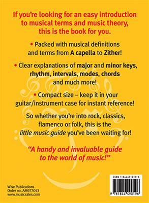 The Little Book Of Music Theory And Musical Terms: Books on Music