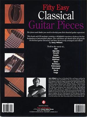 Fifty Easy Classical Guitar Pieces: Guitar or Lute