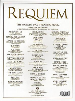 Requiem - The World's Most Moving Music: Piano or Keyboard