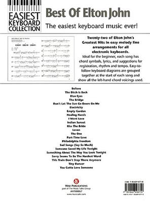 Elton John: Easiest Keyboard Collection: Best of Elton John