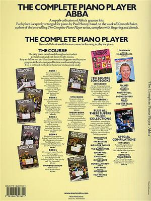 ABBA: The Complete Piano Player: Abba: Arr. (Paul Honey): Piano