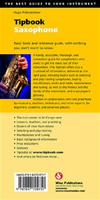 Hugo Pinksterboer: Tipbook: Saxophone: Books on Music