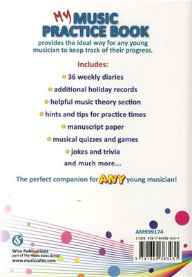 My Music Practice Book: Books on Music