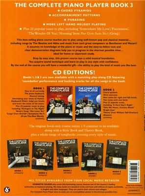 The Complete Piano Player: Book 3 - CD Edition: Piano or Keyboard