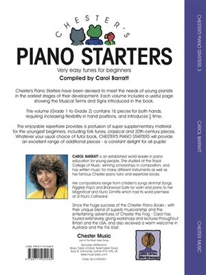 Chester's Piano Starters Volume Three: Piano or Keyboard