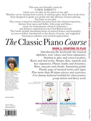 The Classic Piano Course Book 1: Piano or Keyboard