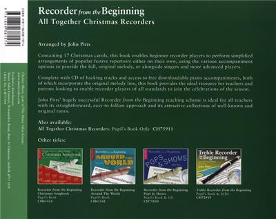John Pitts: Recorder From The Beginning: Recorder