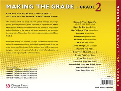 Making The Grade: Pop Piano Grade 2: Arr. (Christopher Hussey): Piano