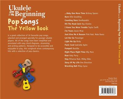 Ukulele From The Beginning Pop Songs (Yellow Book): Arr. (Christopher Hussey): Ukulele